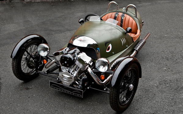 «New Morgan 3 Wheeler»