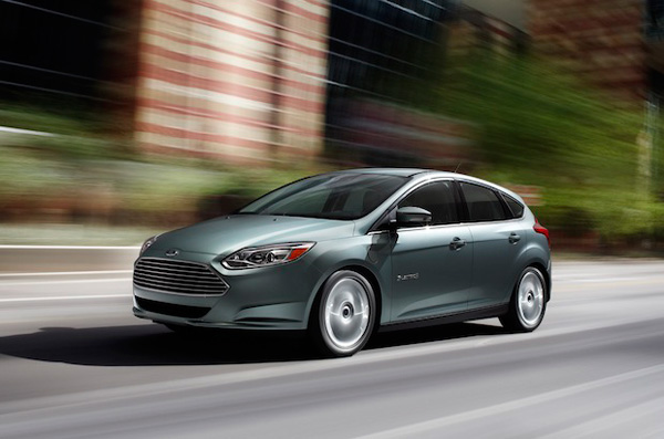 Электромобиль «Ford Focus Electric» хетчбэк